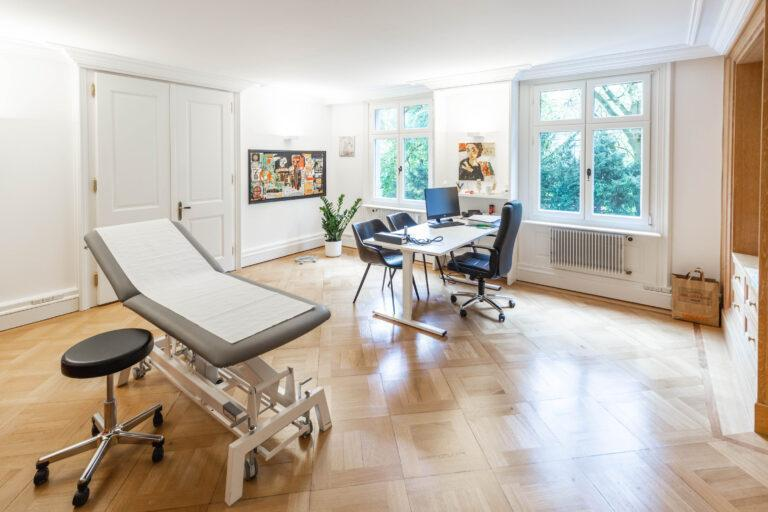 Konsultationszimmer Hausarztmedizin